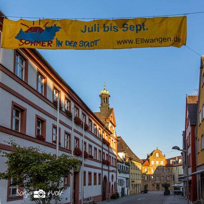 Rathaus Ellwangen in der Spitalstrasse