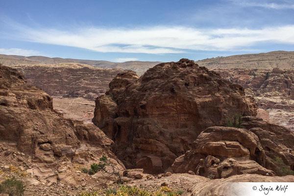 Wanderung auf den Umm al-Biyara