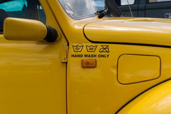 Waschanleitung VW-Käfer