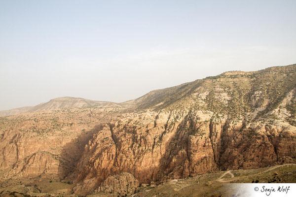 Blick ins Wadi Dana