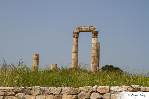 Reste des Herkules-Tempels