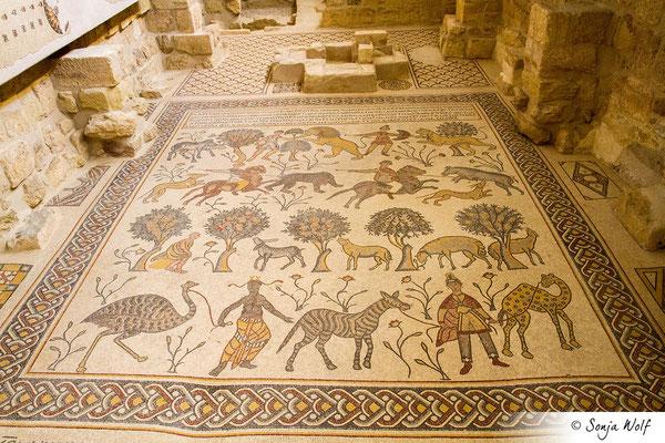 Bodenmosaik der Taufkapelle