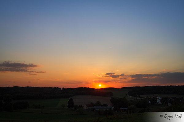 Woche 37 / Sonnenuntergang