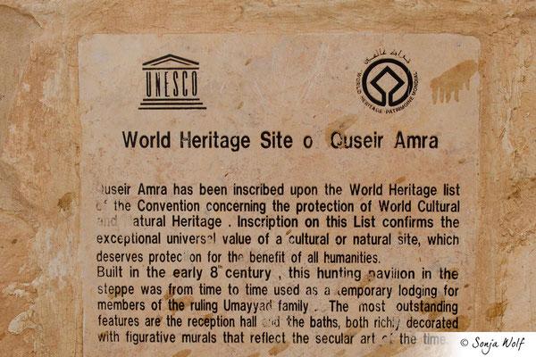 UNESCO-Weltkulturerbe Amra