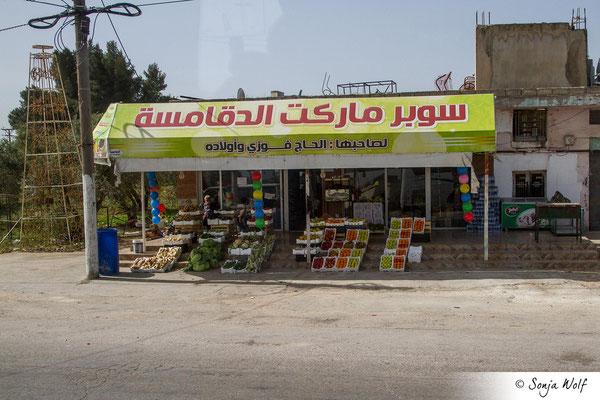 Geschäfte an der Straße