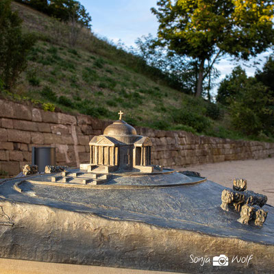 Modell der Grabkapelle