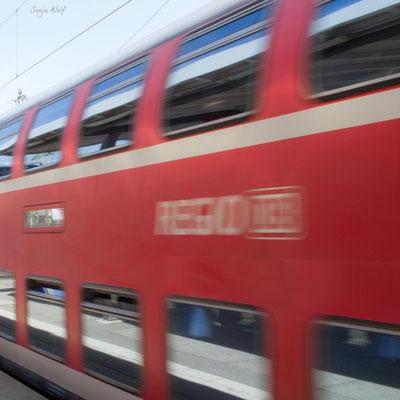 Unterwegs nach Stuttgart