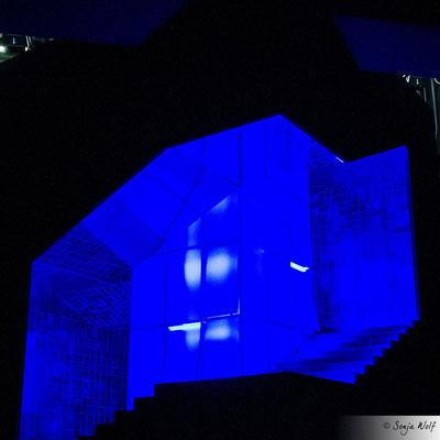 Bühnenbild Medea - blau
