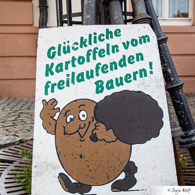 Glückliche Kartoffeln