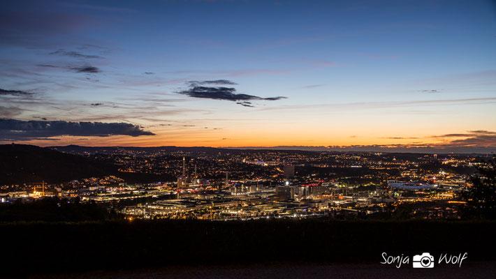 Stuttgart schaltet die Lichter ein