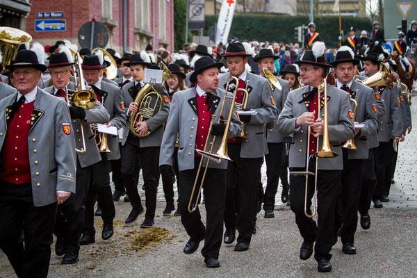 Der Musikverein Dalkingen sorgt für Unterhaltung