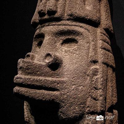 Skulptur des Ehecatl