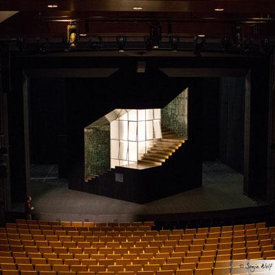 Bühnenbild Medea - von oben