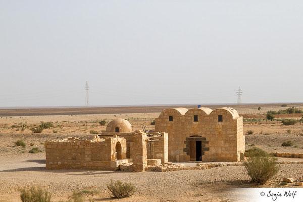 Wüstenschloss Amra