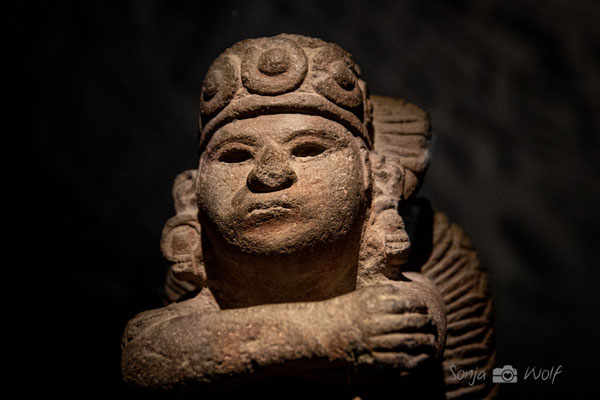 Figur des Sonnengottes Tonatiuh