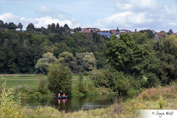 Kanu auf der Donau