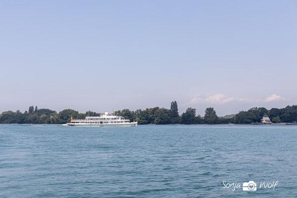 Linienschiff auf dem Bodensee