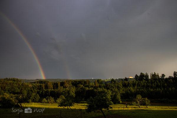 Regenbogen und Kapfenburg
