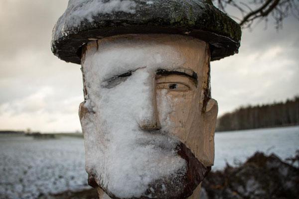 Woche 03 / Portrait mit Schnee