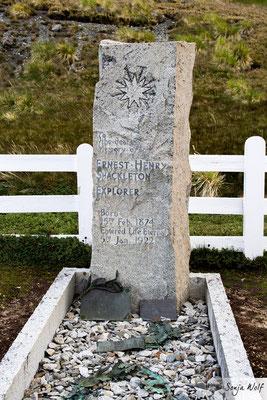 Grab von Sir Ernest Shackleton