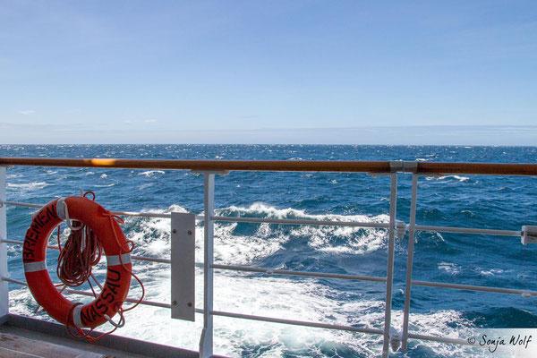 Auf dem Atlantik