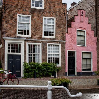 Kleines rosa Haus