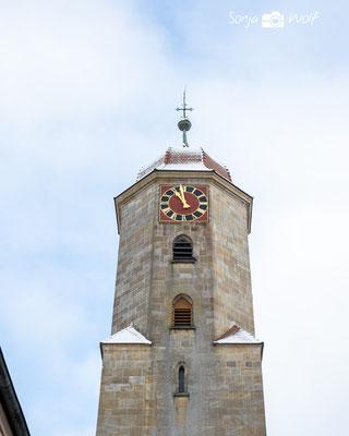 Turm der Marienkirche Ellwangen