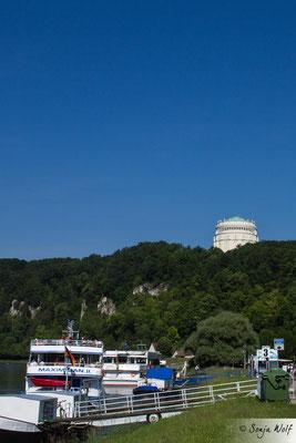 Befreiungshalle und Donau