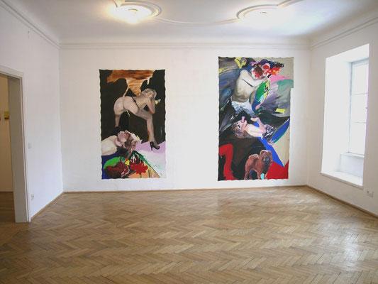 Avec Peinture, Galerie 5020, Salzburg, 2005