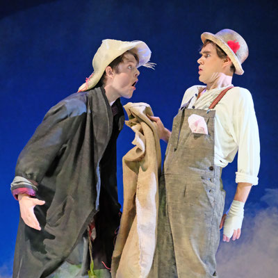 tom sawyer& huckelberry finn -theater lübeck