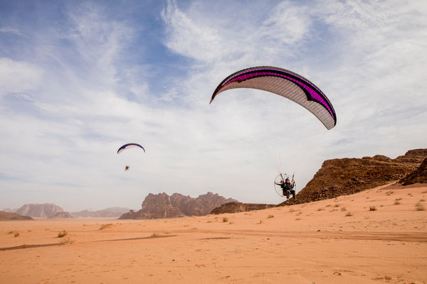Flying Wadi Rum - Jordanien