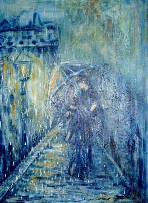 Rendezvouz im Regen