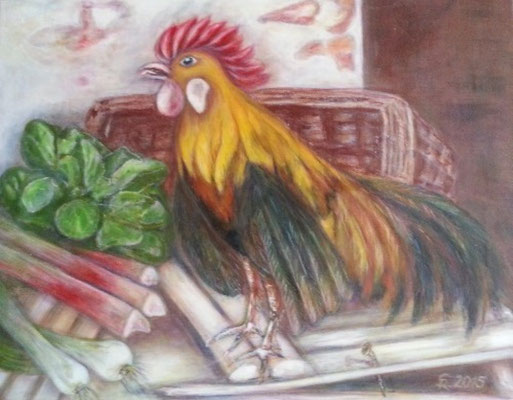Der Hahn im Korb