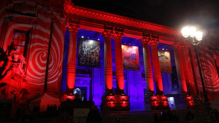 Façade du Grand Palais - ART CAPITAL 2020