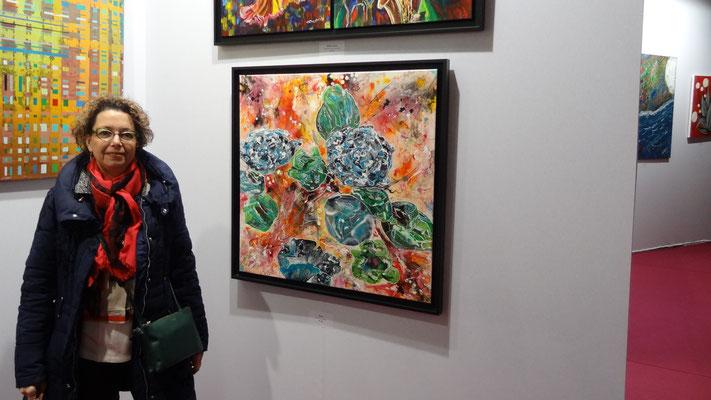 Tableau Exposé au Grand Palais dans le cadre des artistes indépendants