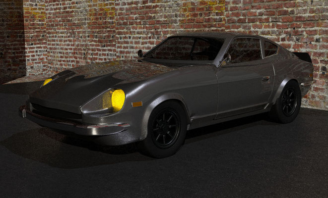 Modélisation 3D voiture