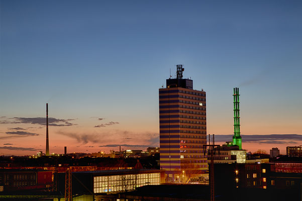 Hoist Hochhaus, Skyline Duisburg