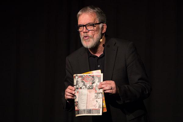Wolfgang Trepper,  deutscher Kabarettist und Moderator