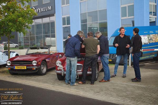 LOF Oldtimer Breakfast Jaguar Land Rover Sud