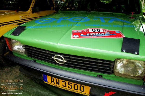 Opel-Hecktriebler-Treffen Lëtzebuerg