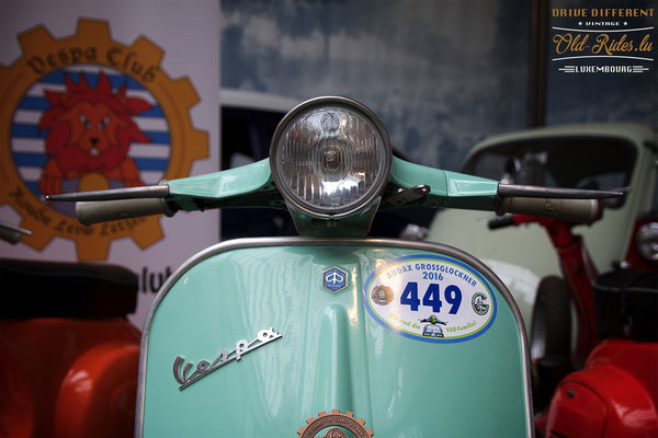 70 Years of Vespa by Vespa Club Roude Léiw Lëtzebuerg