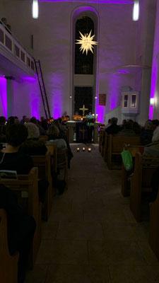 Konzert des Weihnachtsmusical made in Simmershausen