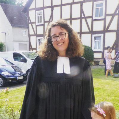 Pfarrerin Metzner wird eingeführt
