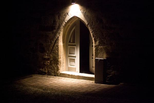 Hintereingang Hoffnungskirche