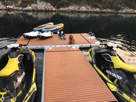 NautiBuoy Jetski Dock