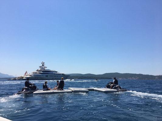 Your own private island, NautiBuoy Leisure Platforms