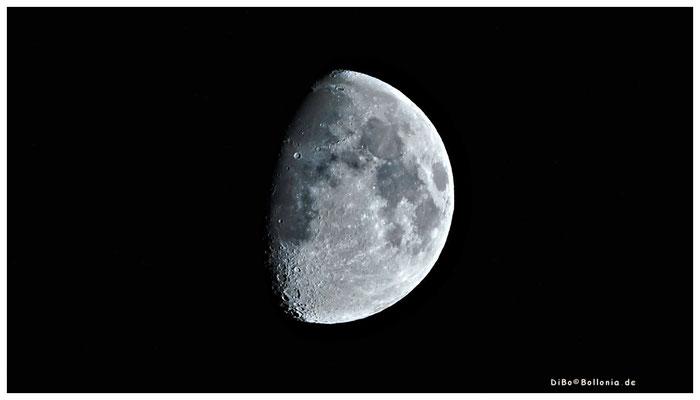 zunehmender Mond am 03-10-2014 20.55 Uhr