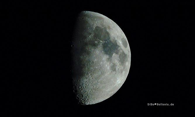 zunehmender Mond am 03.09.2014  20.33 Uhr