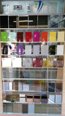 Vidrios para decorar (opacos) en cristalería VIDRIOTEC (Murcia)