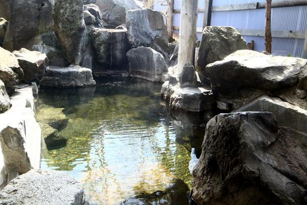 男性露天風呂